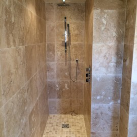 New wet room installation in Spital